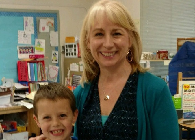 Mary Ulvin, Second grade teacher, believes that no child should be hungry