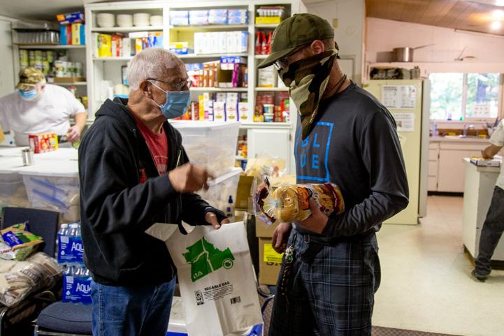 Idanha Detroit Community Food Pantry